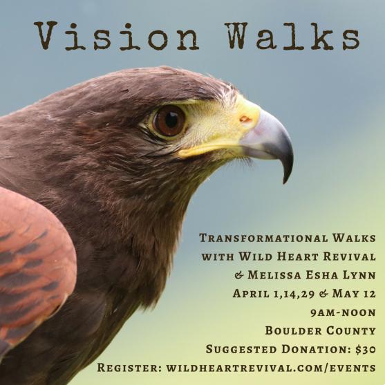 Spring Vision Walks 2018